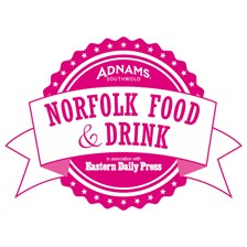 Norfolk Food Drink Logo Pink